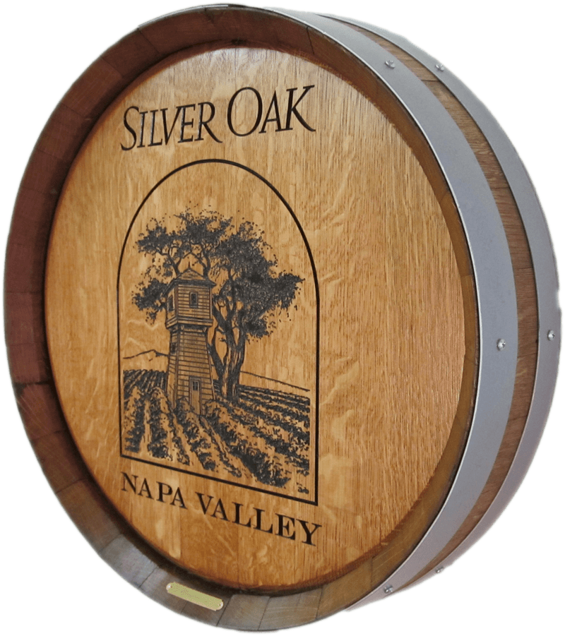 F2-SilverOak-Barrel-Head-Carving